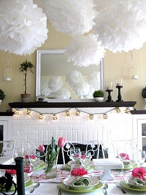 Spring Party Idea from mypinklife blog