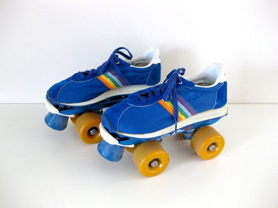 I had these lovely tennis shoe skates. I was a regular at Fountain ...