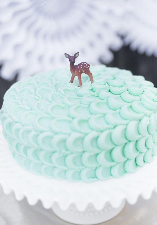Gâteau de Noël Tendance Pastel