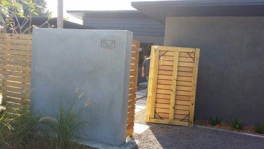 Faux concrete