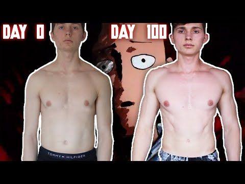 Can 100 Pushups 100 Squats 100 Situps And A 10km Run Turn Him Into A Ninja Superhero One Punch Man Squats 100 Squats