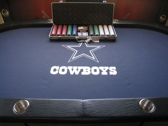 Cowboys poker table