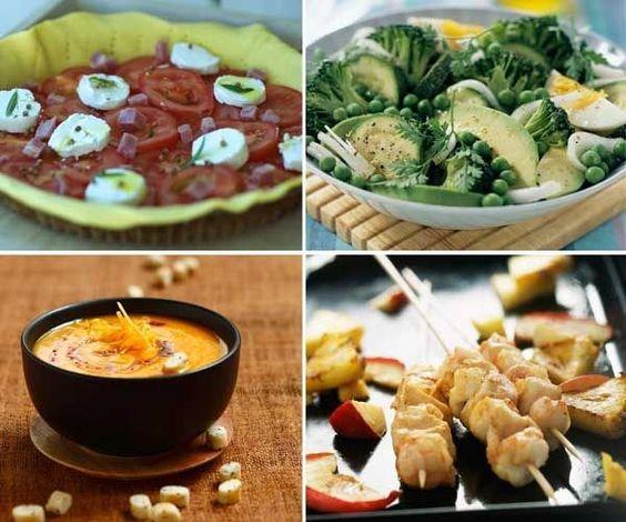 Cenas ligeras para noches de verano | Recetas | Pinterest