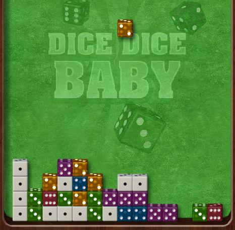 Match the dice by number as they fall from the sky! Hint: Match two 2's, three 3's, four 4's and so on! Play Dice Dice Baby TODAY!