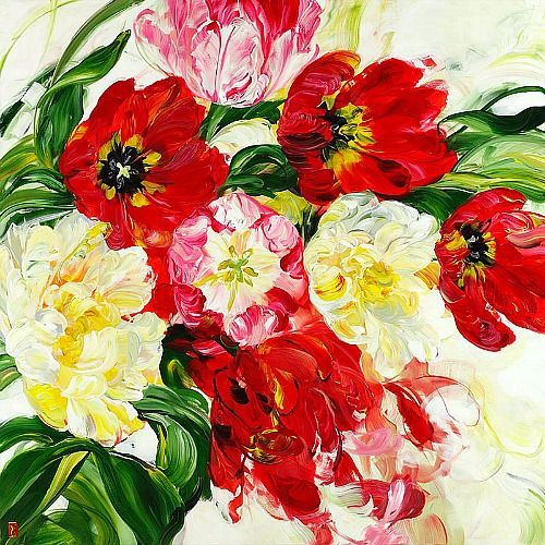 Bobbie burgers 39 freedom falling 2013 flowers gardens pinterest posts freedom and acrylics - Flowers that mean freedom ...
