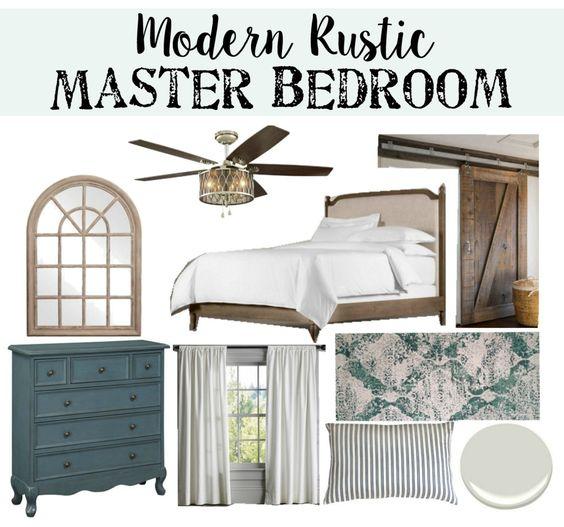 Modern rustic master bedroom design plan master bedrooms for Rustic master bedroom designs