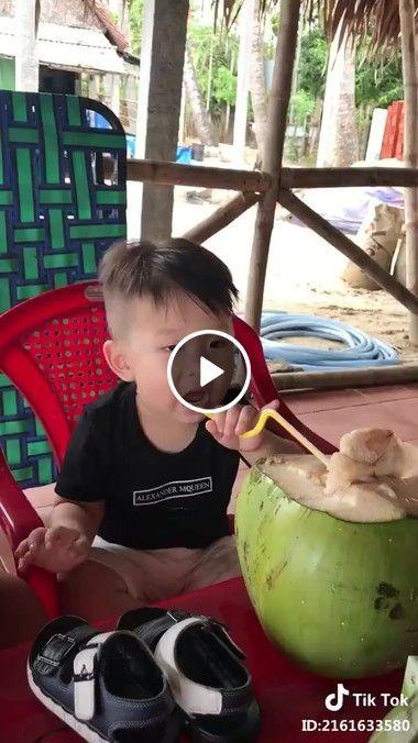 O que será que tinha nessa água de coco