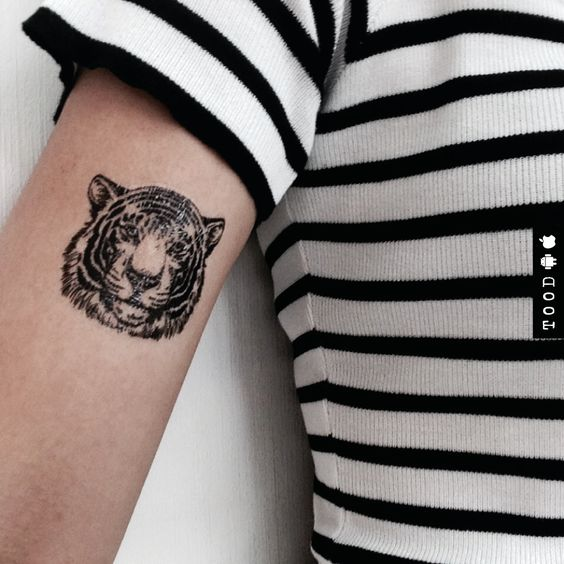 tiger temporary tattoo tood