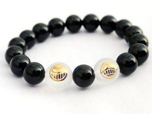 Smile Ace Cry Bracelet (Black)