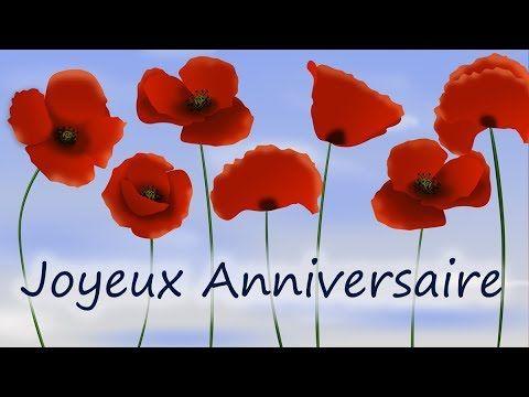 Joyeux Anniversaire Jolie Carte D Anniversaire Virtuelle Gratuite Youtube Carte Anniversaire Fleurs Carte Anniversaire Animee Carte Virtuelle Anniversaire