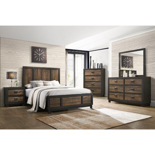 Llewellyn Standard 3 Piece Bedroom Set 5 Piece Bedroom Set