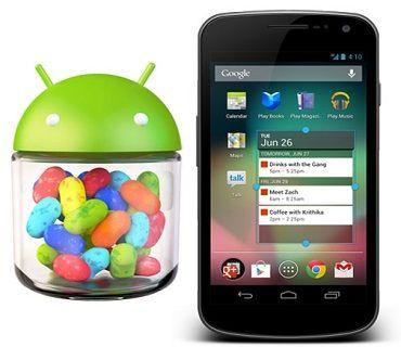 """Los Galaxy Nexus """"yakju"""" ya están recibiendo la actualización a Android 4.2 (Jelly Bean)"""