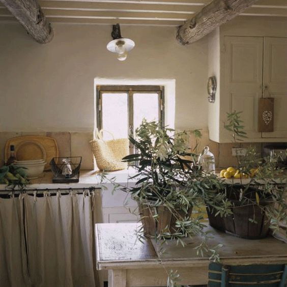 The Paper Mulberry: The French Country Kitchen