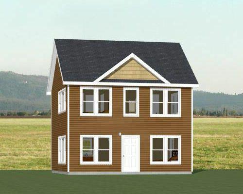 24x24 House 3 Bedroom 3 Bath 1 083 Sq Ft Pdf Floor Plan Model 7a Building Plans House Cabin House Plans Duplex House Plans