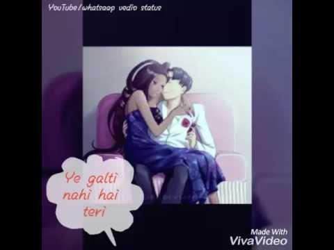 Aise Na Mujhe Tum Dekho Whatsapp Video Status Female Version Youtube Video Status Female