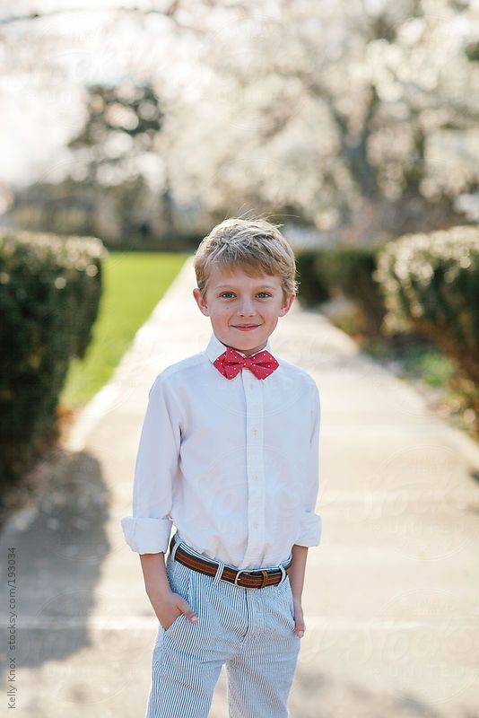 Spring portrait of a young boy by Kelly Knox #stocksy #realstock