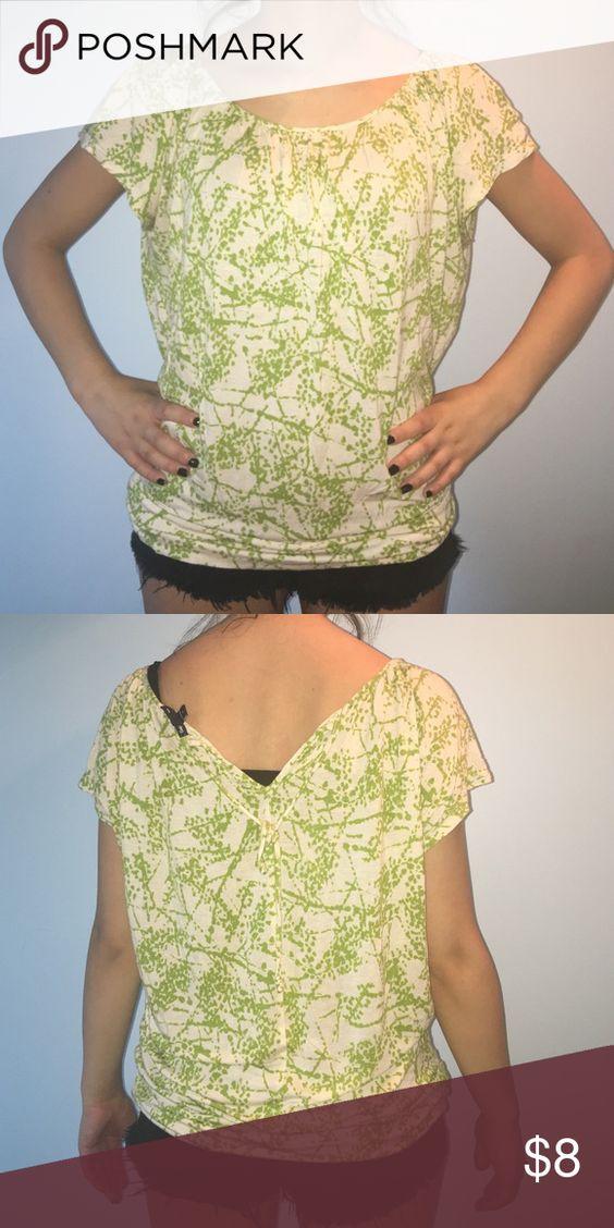 tie back green top gently worn GAP Tops