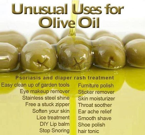 Look for the at home DIY uses for Olive Oil...