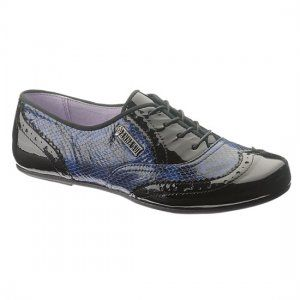 Anna Sui for Hush Puppies // RNR Jazz Oxford, Blue