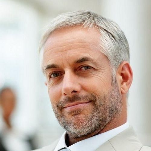 42 Hairstyles For Men With Silver And Grey Hair Men Hairstyles World Grey Hair Men Silver Hair Men Older Men Haircuts