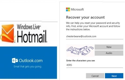 How Can I Recover My Hotmail Account With Recovery Code