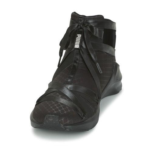 chaussure puma montante femme