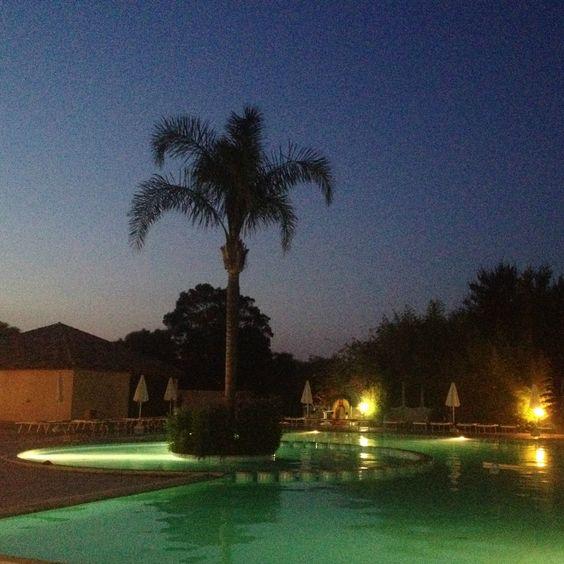 Perdepera Resort in the evening.