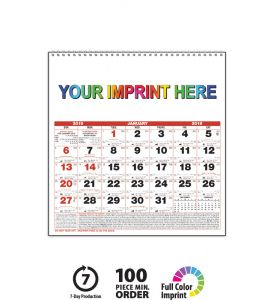 2019 Almanac Calendar Small Personalize With Your Imprint This