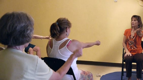 1 Hr Chair Yoga Class: Banishing Back Pain Naturally with Sherry Zak Mor...