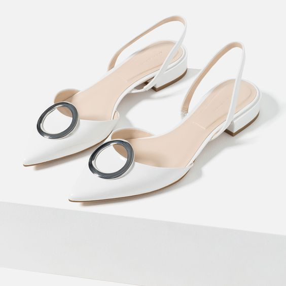 FLAT SHOES WITH DETAIL-View all-WOMAN-NEW IN | ZARA United States