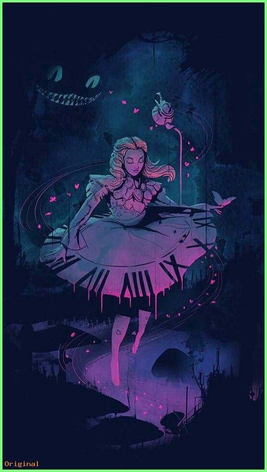 50 Wallpapers Alice In Wonderland Artwork Wonderland Artwork Alice In Wonderland Drawings