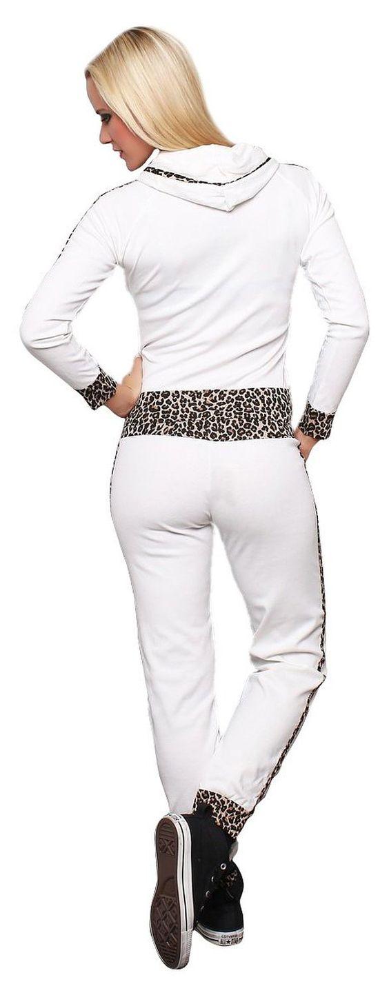 Fashion4Young Damen Jogginganzug Jacke Hose Sportanzug Sporthose Fitness Trainingsanzug Sport: Amazon.de: Bekleidung