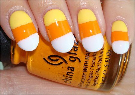 Candy Corn Nail Art: Candy Corn Nails, Department Beauty, Fall Nails, Beauty Department, Nail Design, Fashion Nails, Halloween Nails
