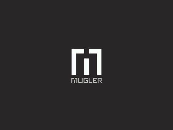 M MUGLER | Word picture mark