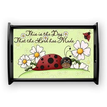 Ladybug Small Serving Tray: Ladybug Small, Small Serving, Kitchen Products, Serving Trays