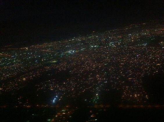 Maracaibo de noche toma aerea!