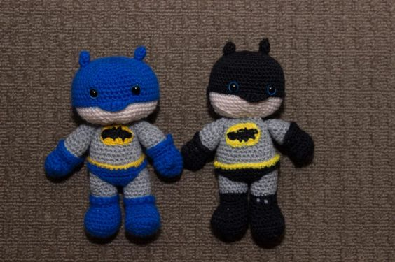 Free Amigurumi Batman Pattern : Batman Amigurumi Free Pattern Free pattern, The ojays ...