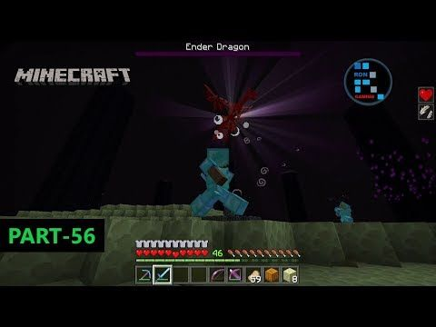 Minecraft We Killed Ender Dragon Open The End City Portal Youtube City Dragon Retro Gaming