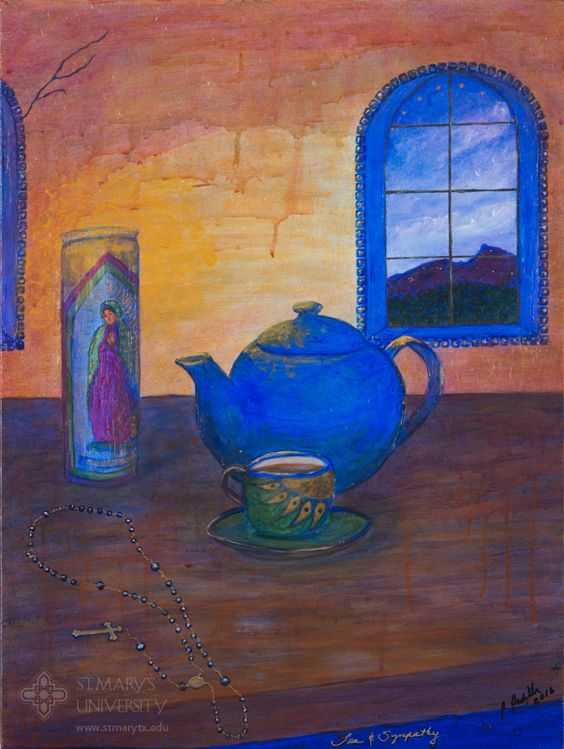 2016 Let There Be Light Art Show: Tea and Sympathy, by Patricia Padilla