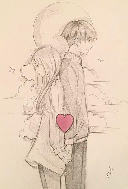 Pin De Rose Luv En Anime Dibujo De Parejas Como Dibujar Cosas Dibujos De Parejas Tumblr
