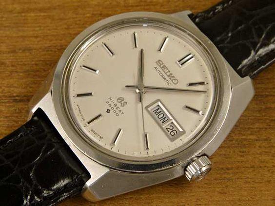 セイコー 61グランドセイコー 桐箱付き GRAND SEIKO 6146-8000 61GS 1968年(昭和43年製)製 ハイビート36000