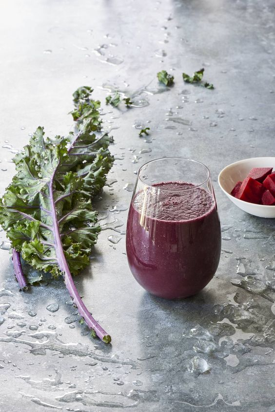 Brilliantly Berry Beet Green Smoothie - Looking for beet and berry smoothies? This recipe from Ricki Heller rocks!: