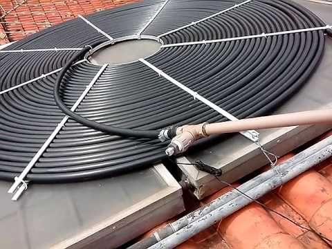 Sistema De Aquecimento Solar Boiler Lali Tecnologia Solar Renato Lali Youtube Solar Pool Heater Solar Pool Heater Diy Solar Shower