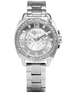 Coach Boyfriend Small Bracelet Watch - Coach Watches - Handbags & Accessories - Macy's
