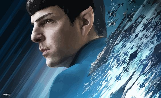 Star Trek Beyond: Spock Vector by elclon.deviantart.com on @DeviantArt