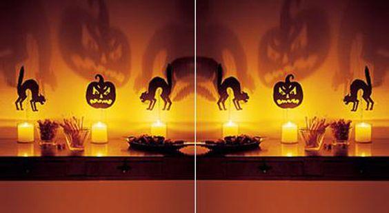 Decoración fácil para halloween