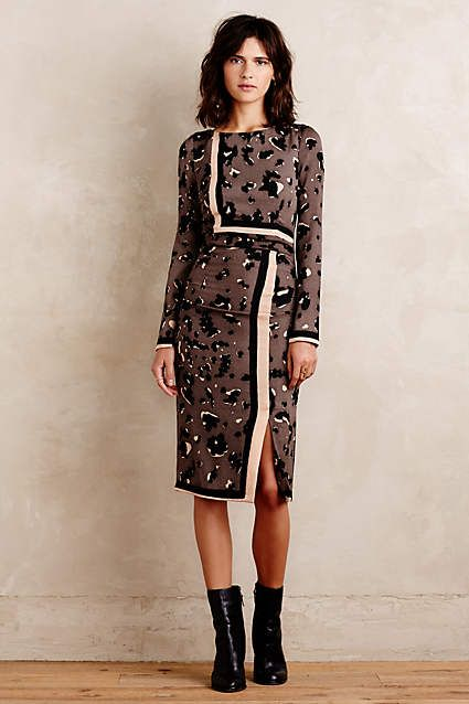 Laporte Pencil Dress - anthropologie.com: