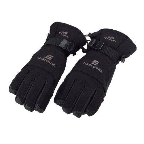 #Docooler Men Winter Windproof Waterproof Warm Gloves Outdoor Cycling Skiing Hiking Black $11.79