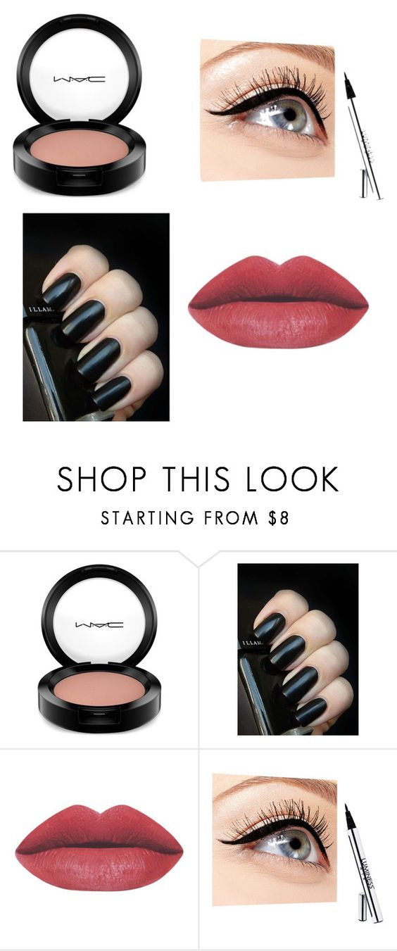 """Not Quite Depressing Enough"" by tinydanceroriginal-1 on Polyvore featuring MAC Cosmetics, Luminess Air, women's clothing, women's fashion, women, female, woman, misses and juniors"