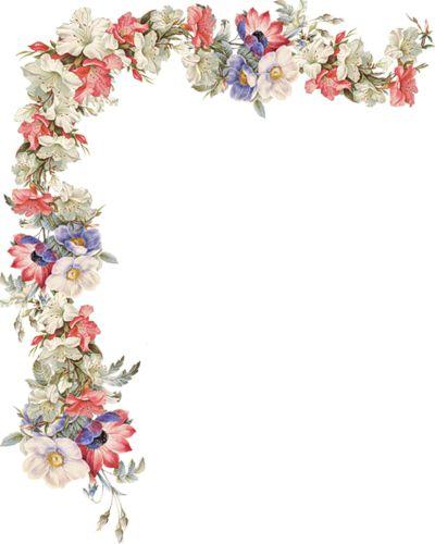 Księga Gości - Victorian Die Cut - Wiktoriański złomu - Victorienne Tube - Glansbilleder - Plaatjes: Blumenranken - wąsów kwiatów - vrilles de Fleurs